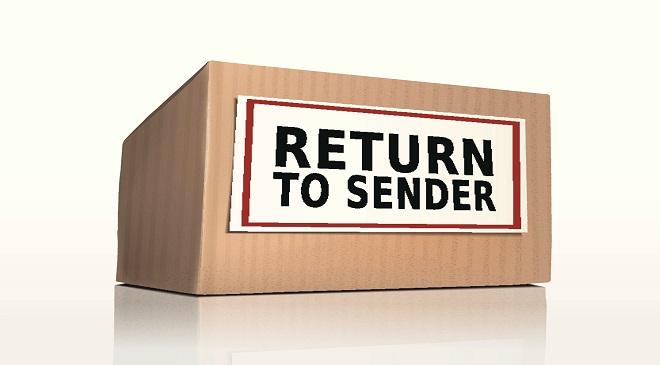Return To Sender Deutsch