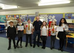 HERMES INSPIRES MONIFIETH PUPILS TO MAKE A DIFFERENCE