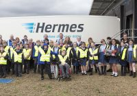 Warrington Pupils Learn About A Parcel's Journey During Hermes Visit