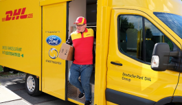 Deutsche Post DHL Group and Ford Unveil the Early Build StreetScooter WORK XL Electric Delivery Van
