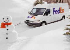 Behind the scenes at FedEx this Christmas