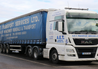 AET Transport Sales Manager Lifts National Palletways Award