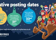 Hermes Announces Last Dates For Christmas Deliveries