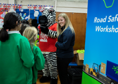 Palletways Delivers Educational Workshops To Birmingham Children With National Road Safety Charity