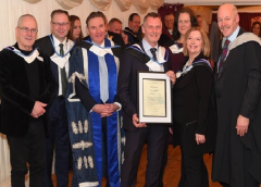 Founder Of Crown Couriers Recognised At  House Of Lords Ceremony