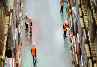 Social Distancing Sensors for the Factory Floor
