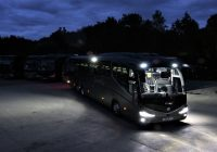 Labcraft lighting solution helps coach operator to see and be seen