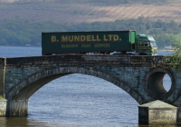 Mandata TMS  blends well for Scottish whisky transporter