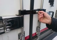 TrailerLock holds universal key to fridge trailer security