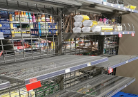 Prepare for basics shortages as 23% of stores report low stocks and 20% of transport companies stop trading, says ParcelHero